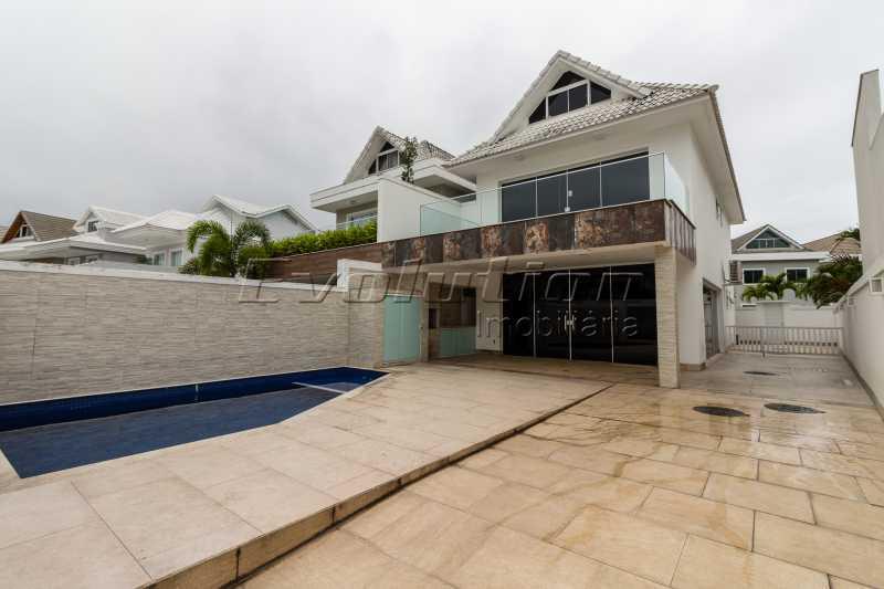Cópia de FOTO CASA RIVIERA 1 - Casa em Condomínio 4 quartos à venda Recreio dos Bandeirantes, Zona Oeste,Rio de Janeiro - R$ 1.800.000 - EBCN40037 - 1