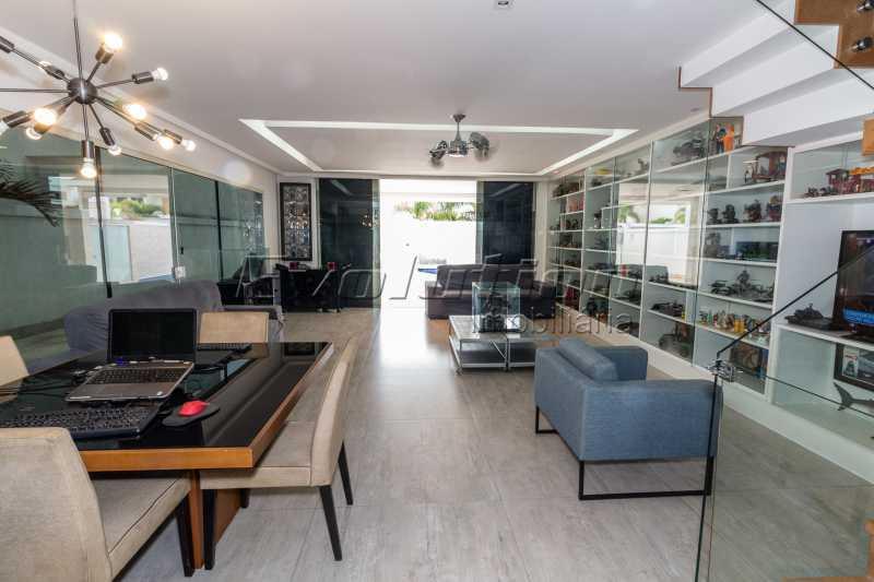 FOTO CASA RIVIERA 12 - Casa em Condomínio 4 quartos à venda Recreio dos Bandeirantes, Zona Oeste,Rio de Janeiro - R$ 1.800.000 - EBCN40037 - 9
