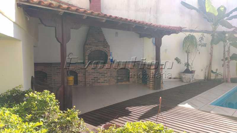 churrasqueira - Casa no condomínio Lagoa Mar Sul - oportunidade. - EBCN40049 - 7