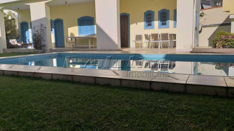 área de lazer - Casa no condomínio Lagoa Mar Sul - oportunidade. - EBCN40049 - 1