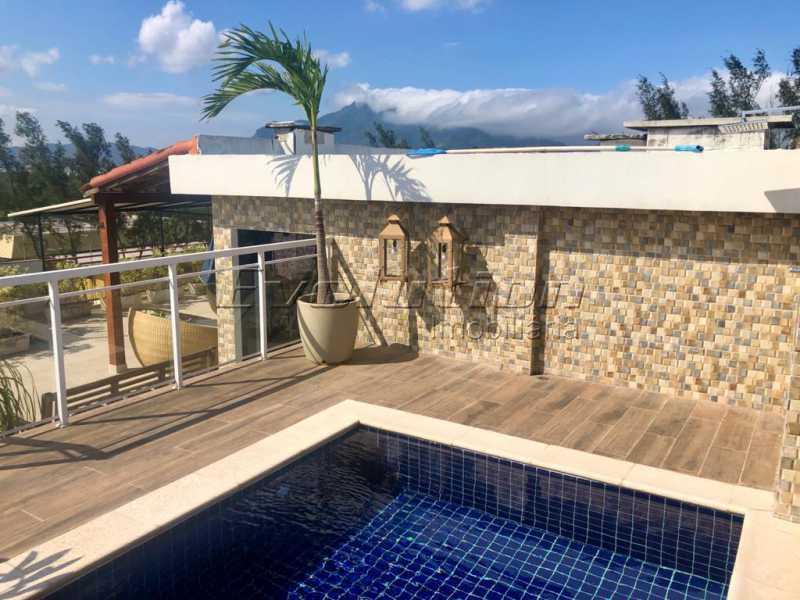piscina1 - Cobertura 3 quartos à venda Barra da Tijuca, Zona Oeste,Rio de Janeiro - R$ 2.590.000 - EBCO30008 - 1