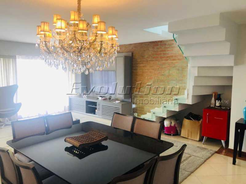 sala1 - Cobertura 3 quartos à venda Barra da Tijuca, Zona Oeste,Rio de Janeiro - R$ 2.590.000 - EBCO30008 - 3