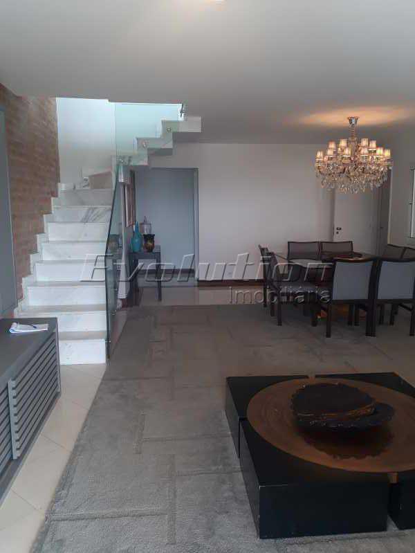 sala3 - Cobertura 3 quartos à venda Barra da Tijuca, Zona Oeste,Rio de Janeiro - R$ 2.590.000 - EBCO30008 - 4