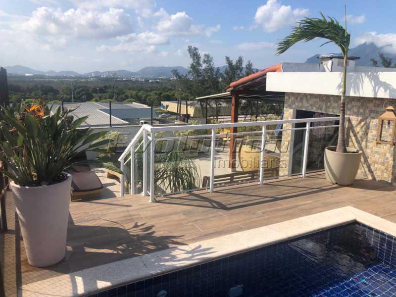 vistapiscina - Cobertura 3 quartos à venda Barra da Tijuca, Zona Oeste,Rio de Janeiro - R$ 2.590.000 - EBCO30008 - 9