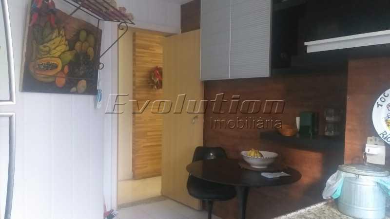 Cozinha 1 - Apartamento 85 m² na gleba B do Recreio dos Bandeirantes. - EBAP30018 - 7