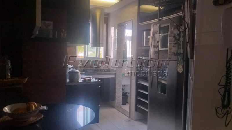 Cozinha 2 - Apartamento 85 m² na gleba B do Recreio dos Bandeirantes. - EBAP30018 - 8