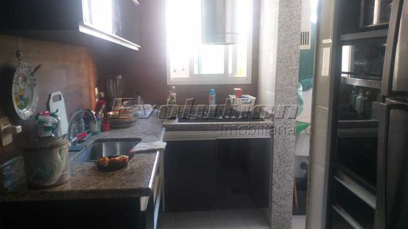 Cozinha - Apartamento 85 m² na gleba B do Recreio dos Bandeirantes. - EBAP30018 - 9