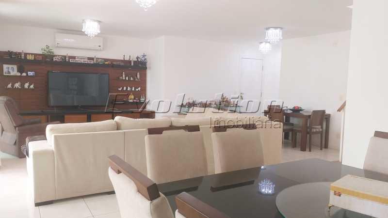 20200918_143702 - Cobertura Duplex mobiliada no condomínio atmosfera da Península. - EBCO30009 - 4