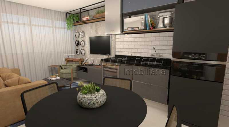 botafogo1 - Apartamento 2 quartos à venda Botafogo, Rio de Janeiro - R$ 599.000 - EBAP20017 - 1