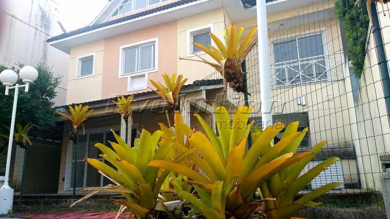 Fachada - Casa no Recreio Quality II. - EBCN40066 - 1