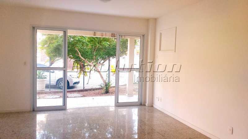 Sala dois ambientes - Casa no Recreio Quality II. - EBCN40066 - 5