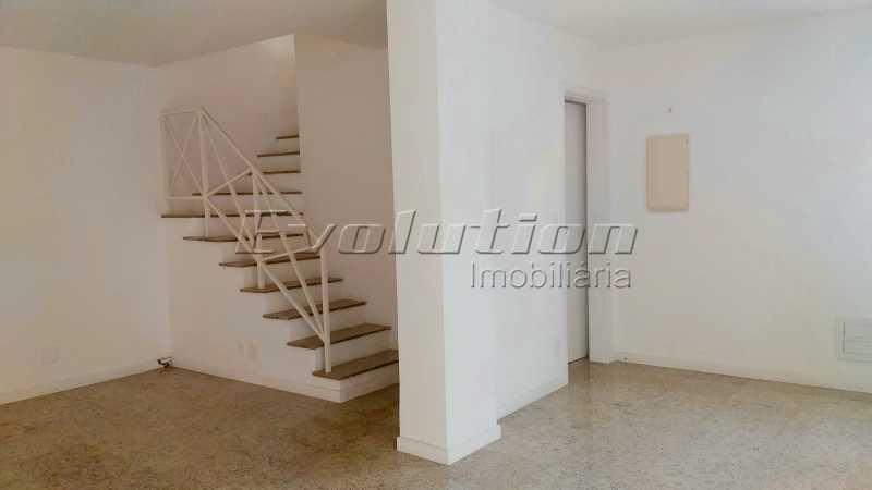 Sala dois ambientes - Casa no Recreio Quality II. - EBCN40066 - 4