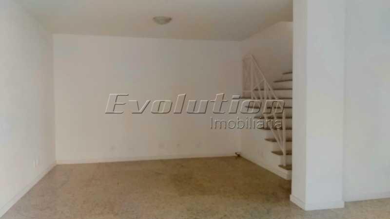 Sala dois ambientes - Casa no Recreio Quality II. - EBCN40066 - 3