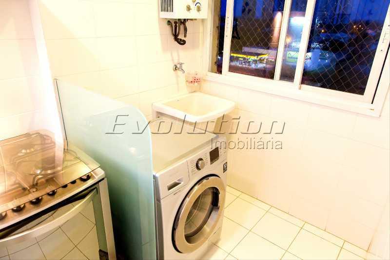 Área de serviço - Apartamento a venda no condomíno Blue das Américas. - EBAP30032 - 22
