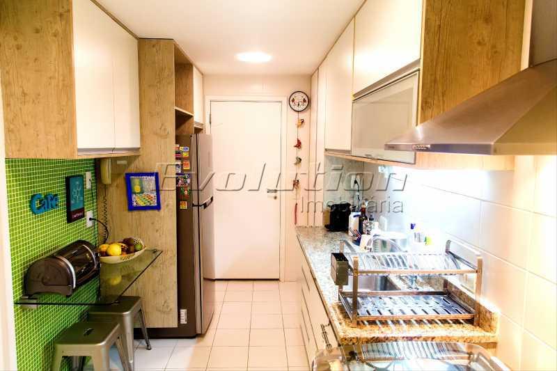 Cozinha - Apartamento a venda no condomíno Blue das Américas. - EBAP30032 - 20
