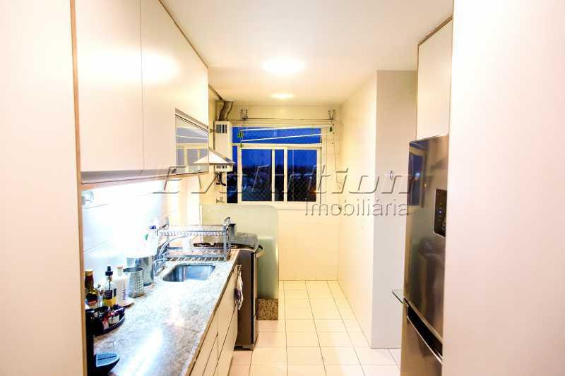 Cozinha - Apartamento a venda no condomíno Blue das Américas. - EBAP30032 - 21