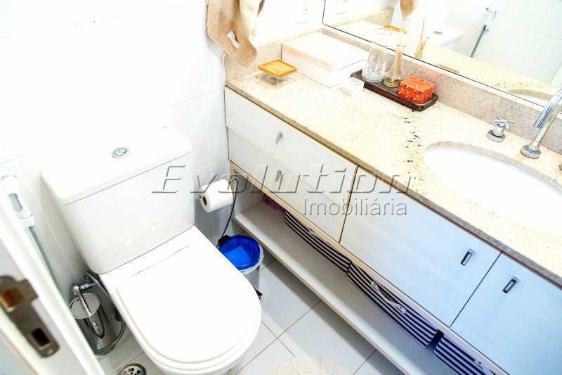 Banheiro suíte - Apartamento a venda no condomíno Blue das Américas. - EBAP30032 - 18