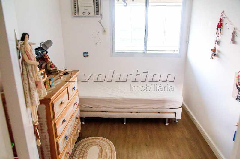 Quarto 1 - Apartamento a venda no condomíno Blue das Américas. - EBAP30032 - 12