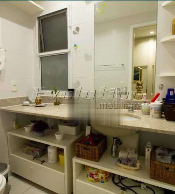 Banheiro  - Apartamento sol da manhã condomínio Blue das Américas - EBAP20023 - 11