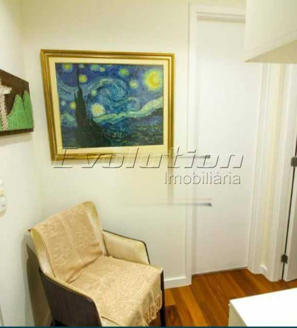 Hall - Apartamento sol da manhã condomínio Blue das Américas - EBAP20023 - 7
