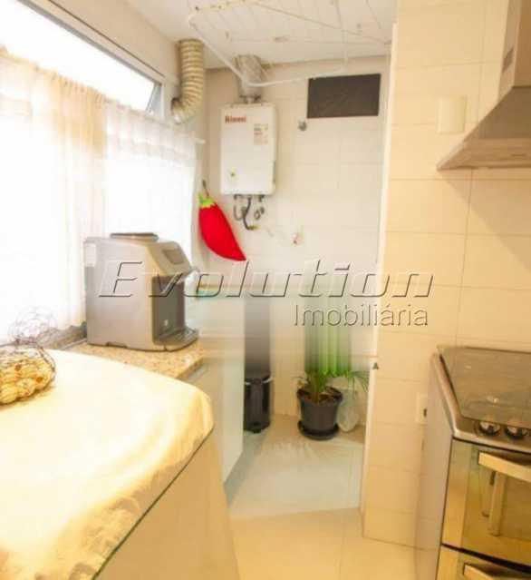 Área de serviço - Apartamento sol da manhã condomínio Blue das Américas - EBAP20023 - 21