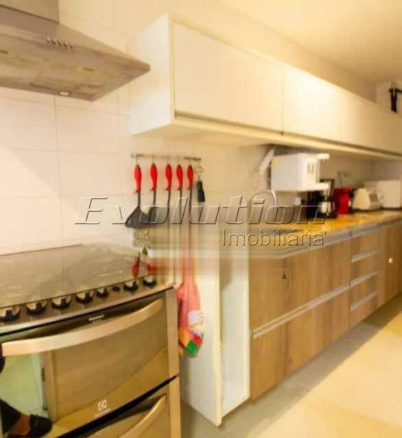 Cozinha - Apartamento sol da manhã condomínio Blue das Américas - EBAP20023 - 19