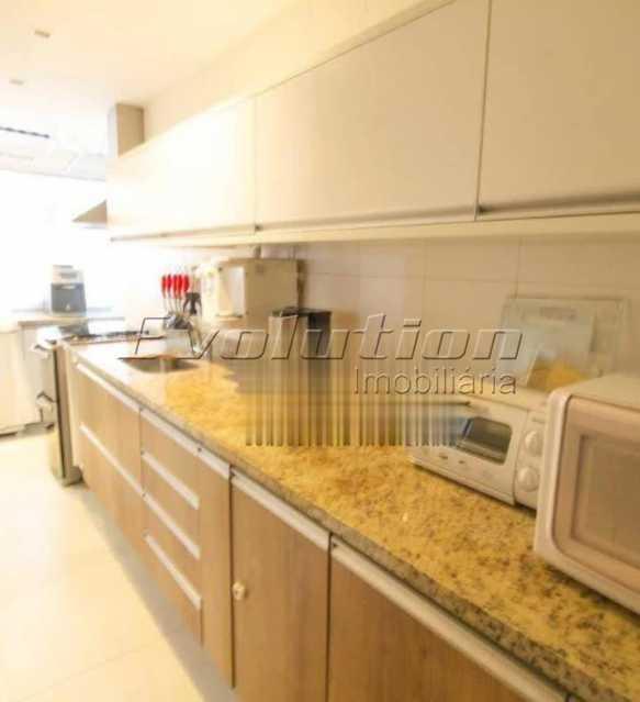 Cozinha - Apartamento sol da manhã condomínio Blue das Américas - EBAP20023 - 18