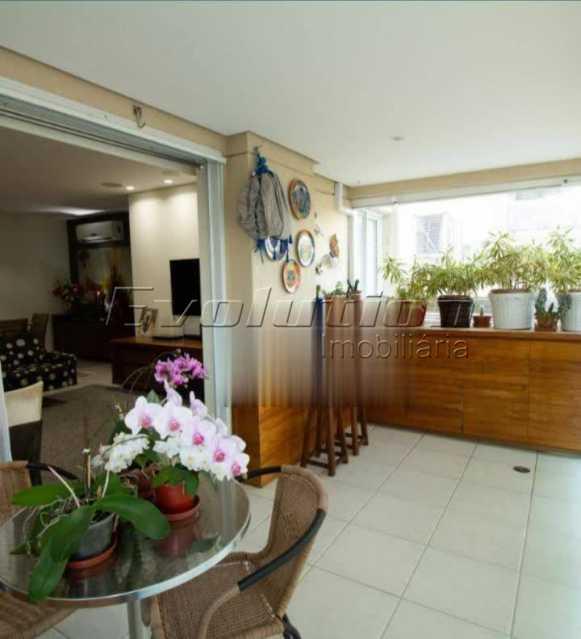 Varanda - Apartamento sol da manhã condomínio Blue das Américas - EBAP20023 - 6
