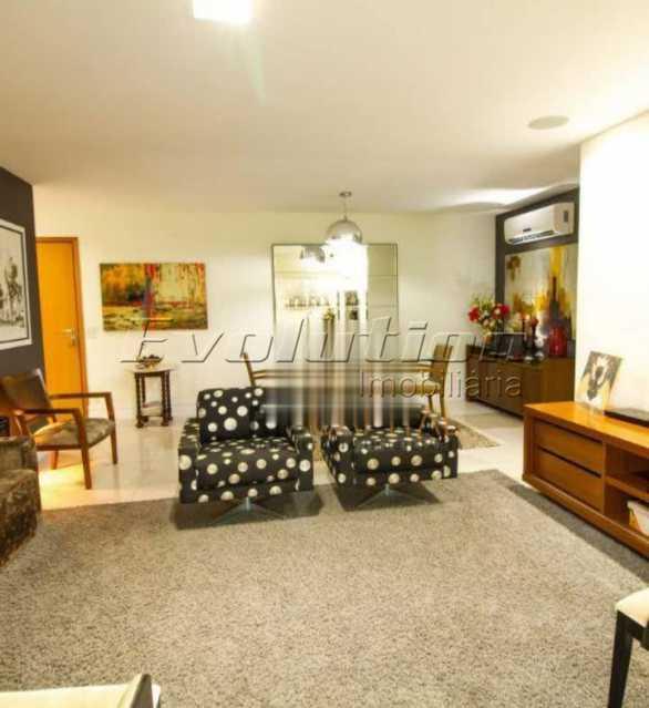 Sala - Apartamento sol da manhã condomínio Blue das Américas - EBAP20023 - 5
