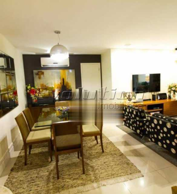 Sala - Apartamento sol da manhã condomínio Blue das Américas - EBAP20023 - 4