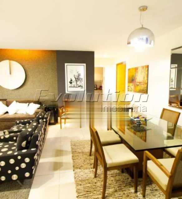 Sala - Apartamento sol da manhã condomínio Blue das Américas - EBAP20023 - 3