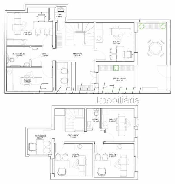 tijuca9 - Casa Comercial 160m² à venda Tijuca, Rio de Janeiro - R$ 790.000 - EBCC00001 - 10