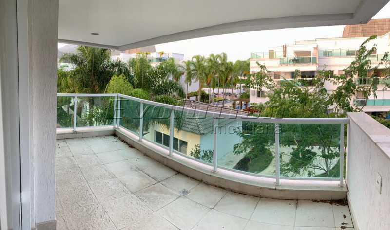 vilage13 - Cobertura 4 quartos à venda Recreio dos Bandeirantes, Zona Oeste,Rio de Janeiro - R$ 750.000 - EBCO40009 - 1