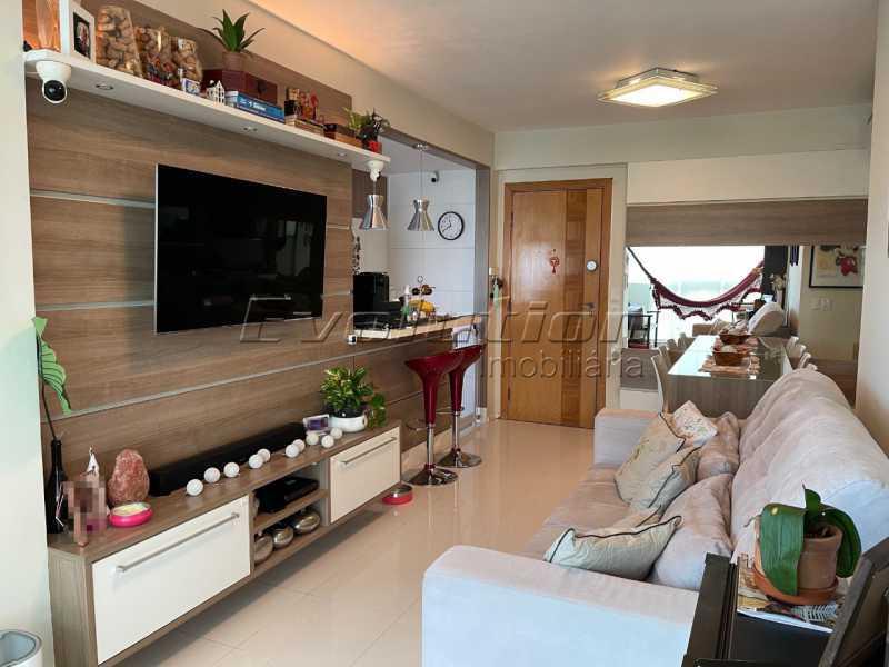 bora10 - Apartamento 2 quartos à venda Barra da Tijuca, Zona Oeste,Rio de Janeiro - R$ 630.000 - EBAP20026 - 1